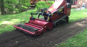 Avec Hortiplan la préparation du sol est le succès vers une pelouse réussit