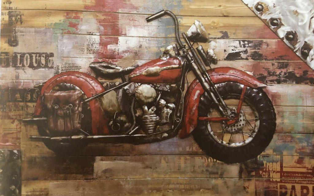Moto rouge